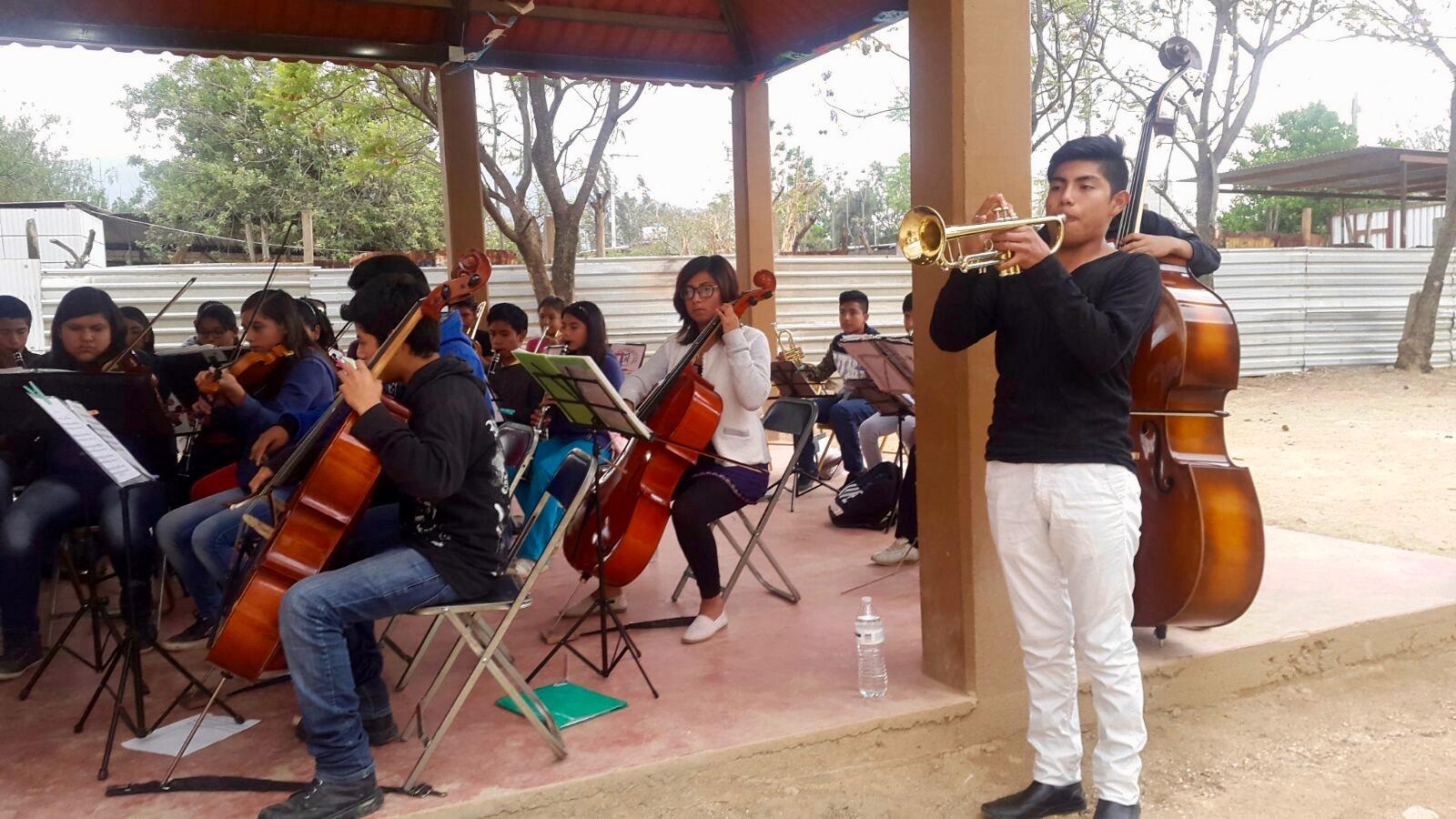 petit concert de l'orchestre